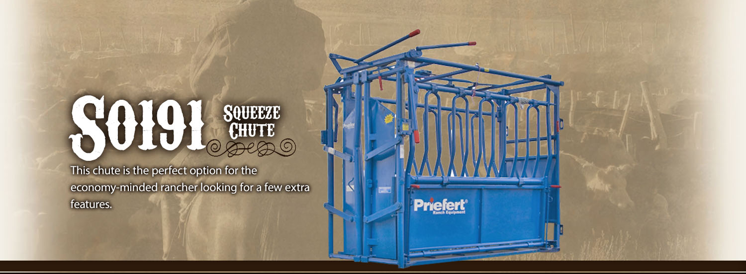 Priefert Squeeze Chutes Model S0191